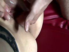 Dirty tourist can fit all his fingers inside her wet pussy