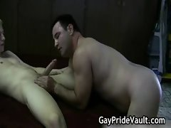 Hard gay bear fucking and sucking gay porn
