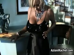 Super hot lady takes her panties