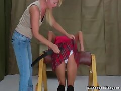 Cute Teen Hotties gets Punished
