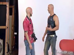 Amazing bald stud posing 1 by MarriedBF gay porno