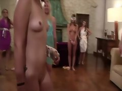 Real teen blindfolded and groped