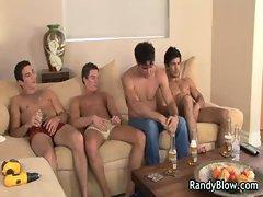 Gay clips of super hot studs in gay gay porno