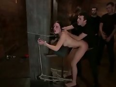 Brutal BDSM Double Penetration Gangbang! vol.28 By: FTW88