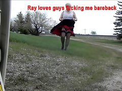 Sissy Ray Loves to show off for hunky guys 4