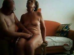 Masturbating my old slut untill she has orgasm. Amateur