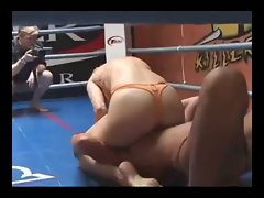 women erotic wrestling