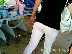 Alicia big ass spandex
