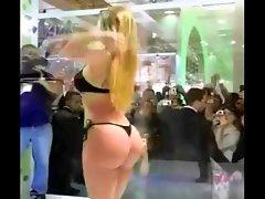 Unbelievable Brazilian ASS in Public Shower (PG13) - Ameman