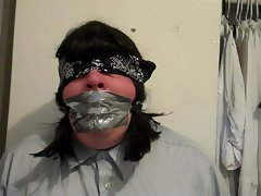 Your Bound and Gagged Sissy Slut