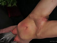 Queensnake.com - Nettle Virgin Greta 2