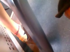 flipflops im Zug