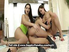 Regi and Daphne and Jo stunning stunning lesbians fingering