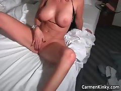Sexy Carmen having funny with some part6