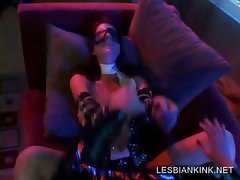 Lesbian sexual torture with hottie
