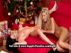 Cameron and Jess from sapphic erotica lesbian gils licking