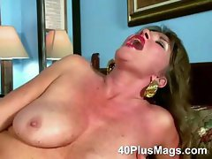 Busty Mature Hairy Pussy Solo