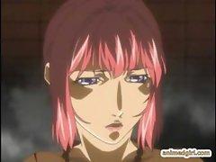 Hentai girl gets ritual sex by shemale anime