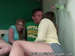 College Amateur Girls Suck Dick And Fucked At A Party
