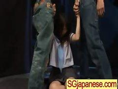 Asians Teen Girls In School Uniform Get Hard Sex clip-35