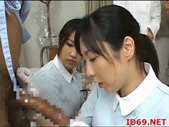 Japanese AV Model and her friends
