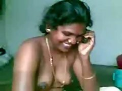 Ugly desi maid gets pleasure to her owner