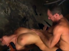 Blonde takes anal pounding