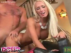 Blonde lichelle marie gets her shaved pussy fucked hard