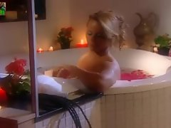Brazilian babe Viviane Araujo bath &amp, shower