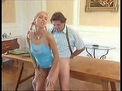 Older man fucks sexy Blonde