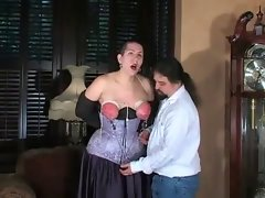 Gothicgirl love bondage and spanking