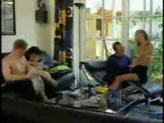 SEXY BABES GROUP SEX STOKING - JP SPL