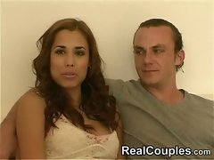 Real Couple Satin &amp, Cage - part 1
