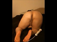 BBW with electric toy