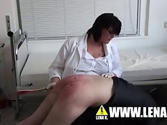 Schoolnurse Rubina Punishes Hard