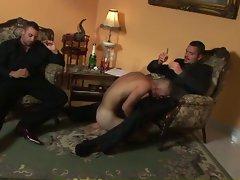 Married man breeders: the butler sucked my cock