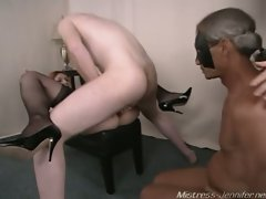 Noelle, kennedy & brian provides some mistress  video !