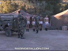 Military group-sex with gay fucks roman ragazzi & jake deckard