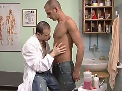 Hot gay doctors fucking in the clinic