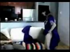 Arabic couple  fuck hard