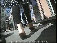 Candid arabic feet 04