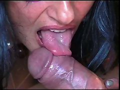 chick blowing that arab cock
