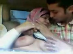 Egypt  couple in car arab