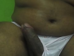 Indian penis in aunt panties