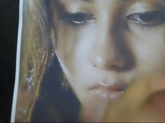 Gman Cum on Face of Indian Celeb Namitha (tribute)