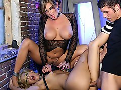 Tory Lane, Adrianna Angel And Chris Johnson...