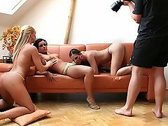 Silvia And 2 Hot Girls - Afternoon Fun...
