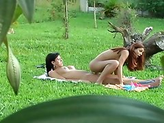 Lascivious shemale having freaky fun in amazing doggystyle fucking...
