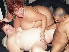 Two hot mature plumpers got together for a wild threesome. Agnes and...
