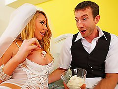 Johnny and Brynn just got married and are about to consummate their...